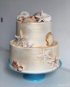 ایده های ناب برای جشن شما Seashell Cake, Airbrush Cake, Naked Cake, Fondant, Baby Birthday Cakes, Cake Factory, Cakes For Women, Character Cakes, Dessert Decoration