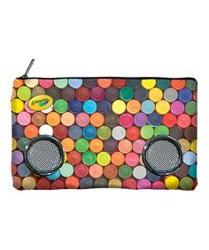 Look what I found on Crayola Crayon Pencil Case Speaker by Crayola… Crayola, Pencil Bags, Crayon Ideas, Cute, Speakers, Art Supplies, Boxes, History, Crates