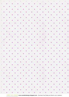 """Set di Carte """"Shabby Dots"""" - """"Shabby Dots"""" Paper Set. By SweetBioDesign"""