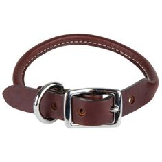 Top Paw® Rolled Leather Dog Collars