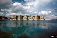 , Ricardo Bofill   les quartiers du lac Montigny le Bretonneux 1981