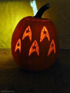 Nerdy Pumpkin Carving Templates: Star Trek, Lord of the Rings, Totoro, Settlers of Catan, and more! - The Nifty Nerd