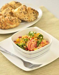 Red lentil salad - Kluci v akci score again :o)