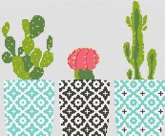 Cactus cross stitch pattern Floral embroidery sampler Geometric PDf pattern Counted xstitch Printable pdf pattern Modern birthday DIY gift – Pin's Page Cactus Embroidery, Embroidery Sampler, Hardanger Embroidery, Cross Stitch Embroidery, Embroidery Patterns, Diy Embroidery, Cactus Cross Stitch, Cross Stitch Borders, Cross Stitch Flowers