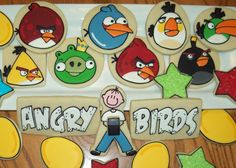Angry Birds Cookies from Jill FCS