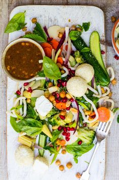 Vietnamese Soba Noodle Salad with Goats Cheese and a Peanut & Lime Dressing via @crushonlinemag