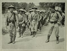 "Vietnamese soldiers WW1 from ""The Times history of the war"" (1914) 