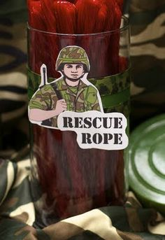 """Army Proud"" Birthday Party-rescue ropes , ""Army Proud"" Birthday Party-rescue ropes. Camouflage Birthday Party, Army Birthday Parties, Army's Birthday, Camo Party, Nerf Party, Birthday Party Themes, Birthday Ideas, Paintball Birthday, Hunting Birthday"