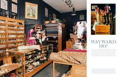 Vintage Style haberdashery from Architectural Digest Spain