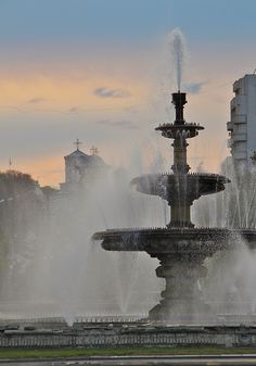 Plata Unirii, Bucuresti Romania Bucharest, View Image, Homeland, Romania, Fountain, This Is Us, River, Spaces, Country