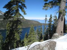 Emerald Bay at South lake Tahoe