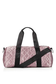 Satin Quilt Gym Bag