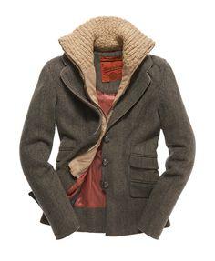 Superdry - Blazer Hacking - Vestes et manteaux pour Femme