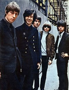 YARDBIRDS 21 June 1966 ~ Jimmy Page made his Live debut with The Yardbirds, he was 22 years old. Jimmy replaced The Yardbirds bassist, Paul Samuel-Smith. Page kept up his four string duties for a bit before switching to twin lead guitar alongside Beck-until Beck left the tumultuous group too, and The Yardbirds became a quartet with Page on lone lead guitar. It was with this line up that they released their final album. 1967's Little Games.  Rolling Stone|Photo: Getty Images gl