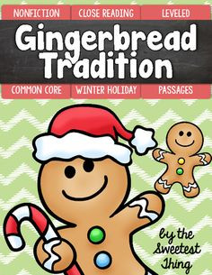 FREE [Christmas Holiday] Gingerbread Tradition Close Reading Leveled Passages from The Sweetest Thing on TeachersNotebook.com -  (10 pages)  - This Christmas Holiday Gingerbread Tradition passage set is perfect for use during guided reading groups!