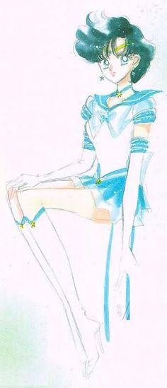 TAKEUCHI NAOKO - Sailor Moon 【Sailor Mercury】