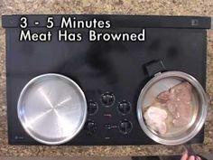 Americraft Waterless Cookware - Steak And Pork Chops
