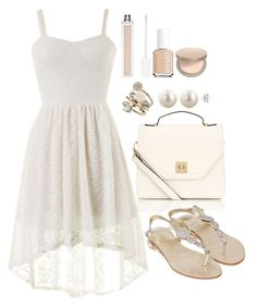 """""""Untitled #3318"""" by natalyasidunova ❤ liked on Polyvore featuring Accessorize, Miso, Witchery, Dorothy Perkins, Essie and Eve Lom"""