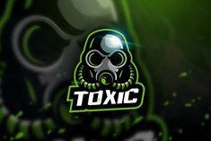 Toxic - Mascot & Esport Logo by aqrstudio on Envato Elements Coreldraw, Cs Go Wallpapers, Cores Rgb, Adventure Time Wallpaper, Envato Elements, Logan, Fox Logo, Game Logo Design, Esports Logo