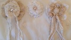 How To Make A Shabby Chic Lace Flower  - WOC Design Team Project