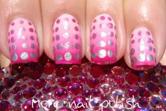Ombre with dots