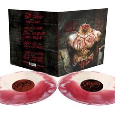 OBITUARY Inked In Blood 2xLP Blood/Bone Merge LTD Death Slayer Autopsy Possessed #Rock