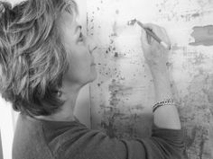 Artist Mary lee Rybar at work Mary Lee, Artist, Artists