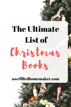 We love reading-seriously we have a small library! Part of our reading library includes an entire Christmas book collection. If you love books too, you will not want to miss my Ultimate List of Christmas books! Christmas Gifts For Women, Christmas Books, Christmas Love, Christmas And New Year, Winter Christmas, Christmas Goodies, Christmas Recipes, Christmas Ideas, Christmas Party Games