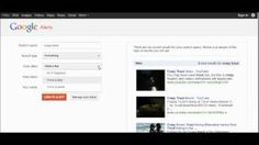 How to Set up Google Alerts to monitor online coverage quick video. youtube.com