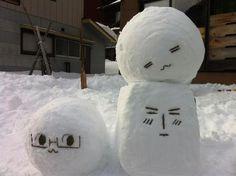 OH MY GOD HETALIA MOCHI SNOWMEN KAWII KAWWIIIIIII MY FANGIRRLLL