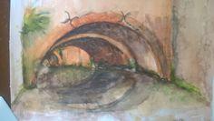 aquarel op papier, Den Bosch juli 15 Painting, Art, Paper, Shop Signs, Art Background, Painting Art, Kunst, Paintings, Performing Arts