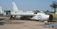 Though the Lightning F6 operated until 1988, the mid 1970s saw the mass scrapping of many Lightning F3 interceptors on the fire dump at RAF Wattisham.