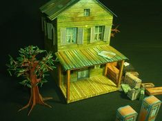 Halloween Special - Twin Brothers` House - by Papermau - Download Now