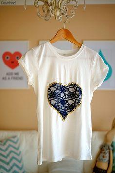 DIY-Spitzenshirt | Cuchikind - DIY-Kids-Lifestyle