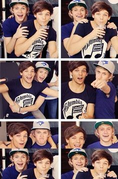 I'm a little ashamed to admit this but I really like them. Niall and Louis