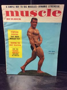 January,1957  Muscle Builder magazine