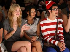 red and white stripes...or where's waldo? ...or great costume idea for just the right person!