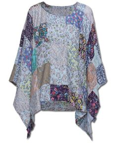 NEW! Patchy Poncho