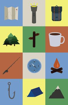 icons by student Ana Glazier