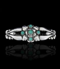Georg Jensen Brooch With Turquoise 99