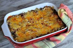 Beef and Bean Enchilada Casserole 4