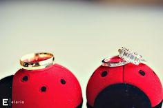 ladybugs #weddingring #weddings #diamond #weddingband #ladybugs #red