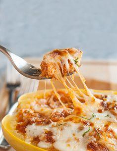 Recipe: Lasagna-Stuffed Spaghetti Squash