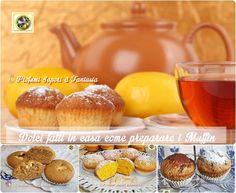 Dolci fatti in casa come preparare i muffin  Blog Profumi Sapori & Fantasia