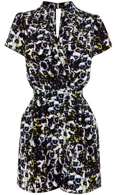 Warehouse Pansy Playsuit, £48