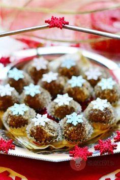 Gaštanovo-nutelové guľky Czech Recipes, Russian Recipes, Rum, Cereal, Muffin, Breakfast, Desserts, Food, Polish
