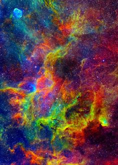 Tulip Nebula: colors made in Space'nCosmos
