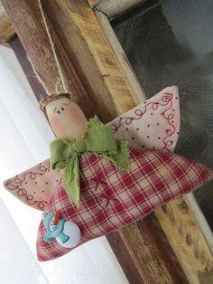 Pingente Anjo para árvore de Natal Mais