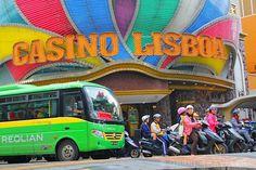 grand lisboa casino macau, macau top attractions, sightseeing in macau