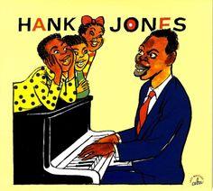 Cabu 2009 Hank Jones - Une Anthologie, 1947-1956 (Cabu Jazz Masters) [BDJazz CABU-543] #albumcover #portrait
